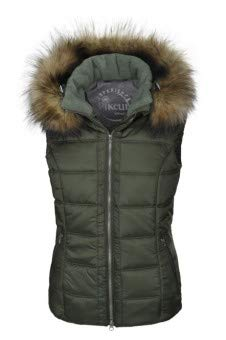 Pikeur Damen Weste FELIA Classic Collection Herbst-Winter 2019/2020, Thyme, 38
