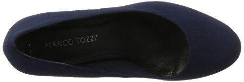 Marco Tozzi 22411, Scarpe con Tacco Donna Blu (Navy)