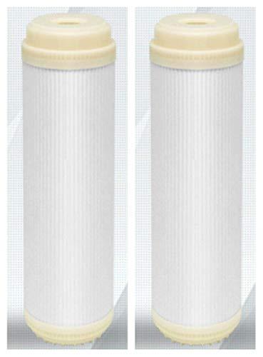 ATXLYT Ultrafiltration Membran mit flachem Mund, 25,4 cm, Hohlfaser, Trockenmembran mit hohem Durchfluss, Ultrafiltration, Membran-Filterelement, 2 Stück -