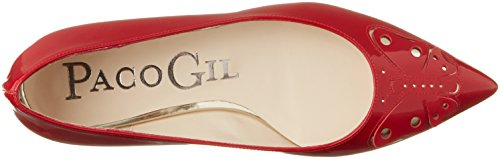 Paco Gil P3236, Ballerines femme Rot (PASSION)