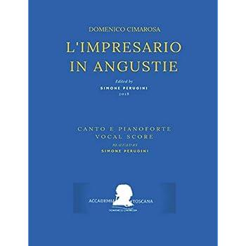 Cimarosa: L'impresario In Angustie: (Riduzione Canto E Pianoforte - Vocal Score)