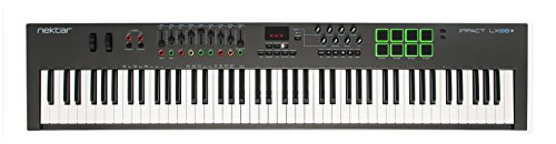 Nektar Impact LX88 + USB MIDI Keyboard Controller with Nektar DAW Integration