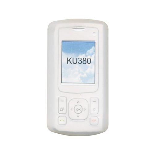 Bluetrade Silikontasche weiß für LG KU380
