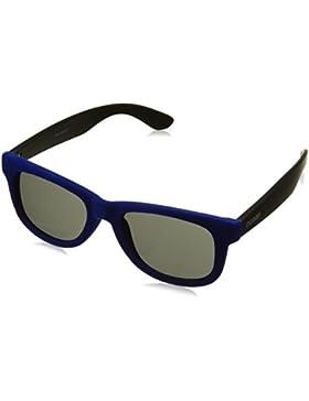 Ocean Sunglasses beach velvet - gafas de sol - Montura : Terciopelo Azul/Negro - Lentes : Ahumadas (V18202.93)