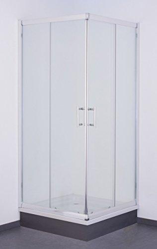 Galdem GABDA5023 100 x 100 cm de ducha cabina de ducha de cristal para baño cuadro 5 mm
