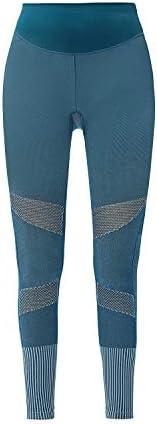 KCA-LAB Damen hochtailliert nahtlos funktional Kompression leggings Fitness Leggings Stretch Knöchellang blick
