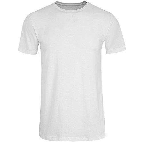 JOCKEY Herren T-Shirt / Unterhemd - Amercian Shirt / Unterhemds - 100% Baumwolle, Farbe Weiss, Schwarz, Grau, Rot, Blau, Gr. S-6XL, Gr. 2XL, Weiss Verkauf Jockey Unterwäsche