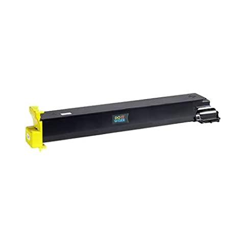 Doitwiser ® Konica Minolta Magicolor 7450 7400 7450II GA Kompatible Toner Gelb - 8938-622