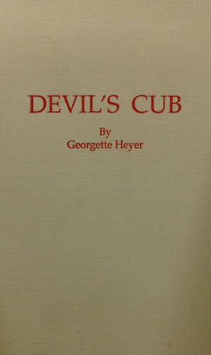 Book cover for Devil's Cub
