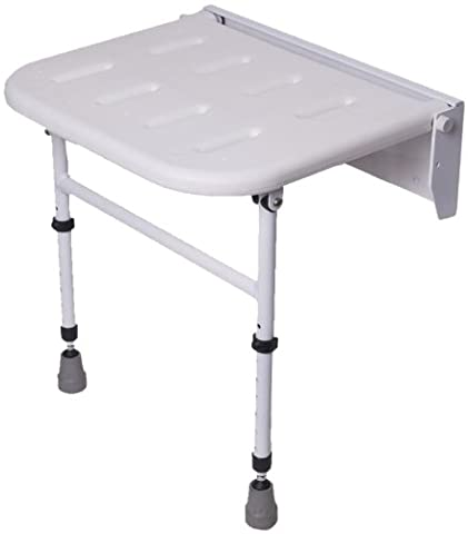 NRS Healthcare Folding Shower Seat with Legs (Eligible for VAT relief in the UK)