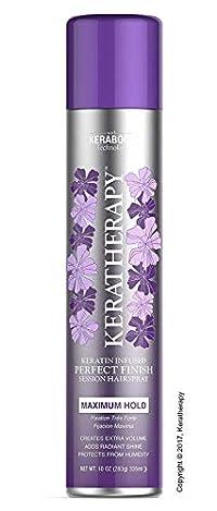 Keratherapy Keratin Infused Perfect Finish Session Hair Spray! (Maximum Hold) 10 Oz