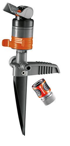 Gardena 38144 Silent Turbo-Drive-Sprinkler auf Stufenspieß -