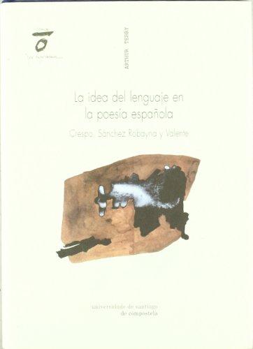 Cv/1-La Idea Del Lenguaje En La Poesía