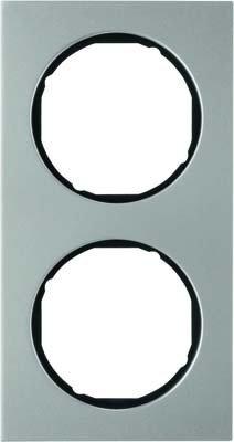 Hager 10122204 interruptor de luz Acero inoxidable - Interruptores de luz (Acero...