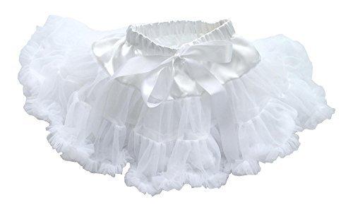 Dancina Baby Tüllrock Tutu Prinzessinen Bauschrock Weiß One Size