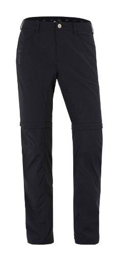 Vaude Damen Hose Yaki Zip Off Pants, Black, 42, 03896