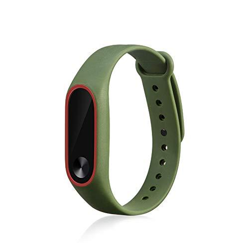 1 correa de silicona suave de repuesto para Xiaomi Mi Band 2, correa de repuesto/correa de reloj para XiaoMi