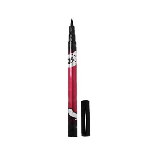 Schwarze wasserdichte Eyeliner-Flüssigkeit Bleistift Tragbare Nicht Dizzy Eyeliner bilden Feder Langlebig Makeup-Effekt Eyeliner -