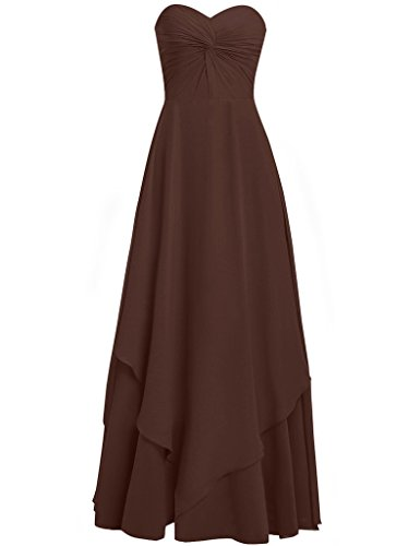 HUINI -  Vestito  - Donna Chocolate