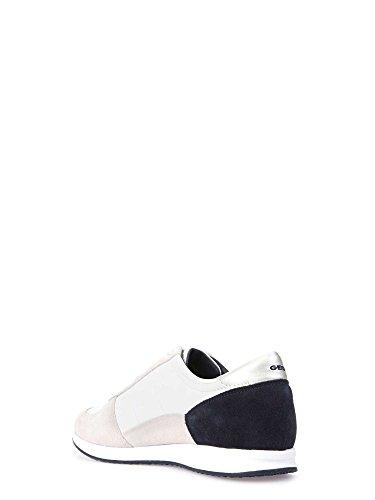 Geox Damen D Avery B Sneaker Bianco