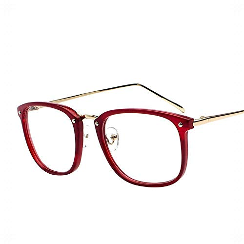 Polarisierte Sonnenbrille mit UV-Schutz Männer und Frauen Computer Brille Flache Spiegel Lässige Brillenfassungen Nicht Verschreibungspflichtige Klare Linsen. Superleichtes Rahmen-Fischen, das Golf fä