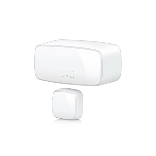 Elgato Eve Door & Window Sensore di Contatto Wireless, Abilitato Apple Homekit, Bluetooth Low Energy
