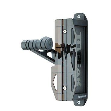 TOPEAK Unisex-Adult Swing-up Fahrradhalter, Black, One Size