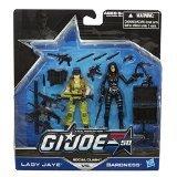G.I. Joe, 50th Anniversary Action Figure Set, Social Clash [Lady Jaye vs. Baroness], 3.75 Inches
