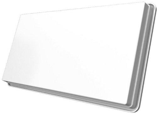STRONG SLIMSAT SA64 Antenna Satellitare Digitale, Slim, Piatta, Per 4 Utente, Colore Bianco