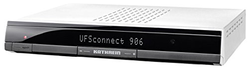 Kathrein UFSconnect 906 HDTV Satellitenreceiver (CI+, PVR-Ready, USB, Netzwerk/UPnP, Wake on LAN, Red Bull Smart-TV) silber