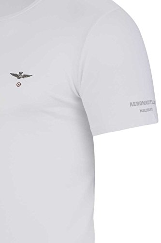 Aeronautica Militare Herren Shirt T-Shirt ALESSANDRO MELANGE GREY1