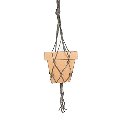 Just Contempo Hanging Rope Plant Pot Hanger,
