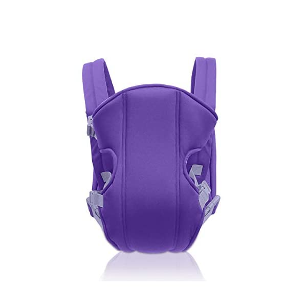 SONARIN 2018 Simple and Lightweight Baby Carrier,Light,Convenient,Breathable,Free Size,Ergonomic,3 Carrying Positions,Safe and Comfortable,Adapted to Your Child's Growing,Ideal Gift(Purple) SONARIN Applicable age and Weight:3-24 months of the baby, the maximum load: 15KG. Recommendations can be based on the growth of the baby's weight to choose the appropriate use method, face-in type: 3 months or more, back type: 6 months or more, face-out type:6 months or more. Material:designers choose comfortable and cool polyester fabric, using 3D breathable mesh, washable, do not fade, no irritation to the baby's skin, to the baby comfortable and safe experience. Description: simple and lightweight design so that the baby carrier is very simple, convenient, light.patented design of the auxiliary spine micro-C structure and leg opening design, natural M-type sitting. Widen the shoulder strap and belt will be effective to disperse the baby's weight to the shoulder and waist, so that mother more effort. 1