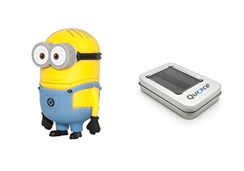 Quace 8GB Cute Minion USB Pen Drive
