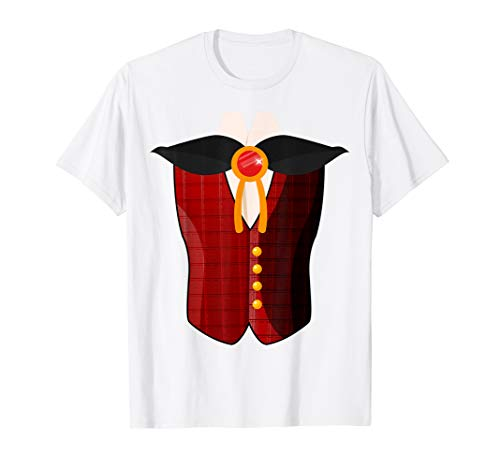 Dracula Costume T-Shirt Halloween Cosplay (Zoo Keeper Outfit)