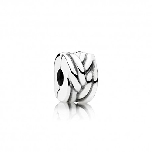 Pandora charm clip intreccio