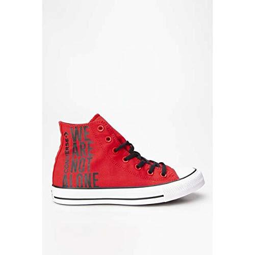 Converse Chuck Taylor All Star Hi Mens Sneaker Shoes Red, tamaño:37.5
