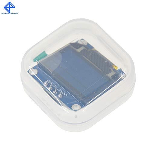 1 stück gelb blau doppel farbe 128x64 oled lcd led-anzeige-modul für arduino 0,96