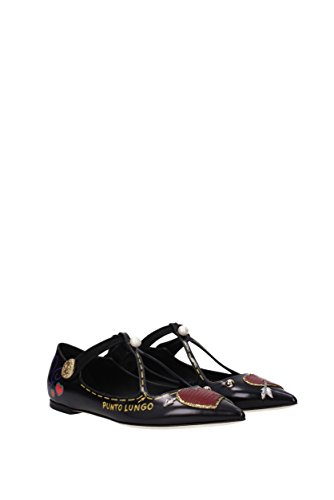 Dolce&Gabbana Ballerine Donna - Pelle (CB0097AM292) EU Nero