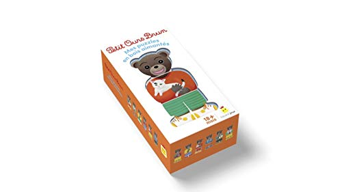 Jouet Petit Ours Brun - Mes puzzles en bois aimantés (Jeux et jouets Petit Ours Brun)