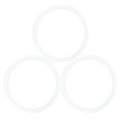 Morella 3 Silikon Ringe Gummiringe für 33 mm Coin Anhänger Coin Träger