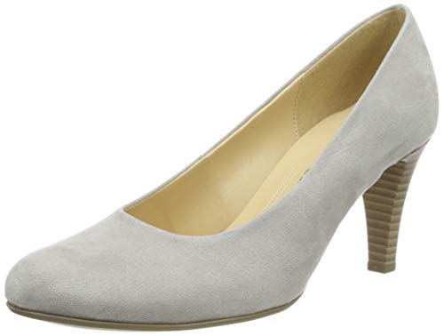 Gabor Shoes Damen Basic Pumps, Grau (Light Grey 49), 40 EU -