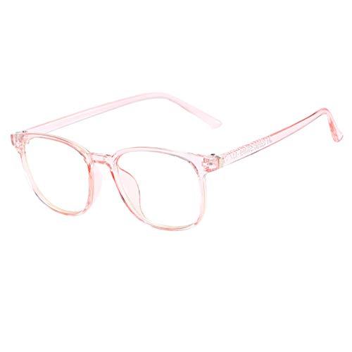 Trisee ✔ Brille Ohne SehstäRke, Klassisch Brille Ohne SehstäRke Damen Blaulichtfilter Brille Hippie Brille Runde Brille Nerd Brille Retro Sonnenbrille Herren Sonnenbrille Damen Ultra Light