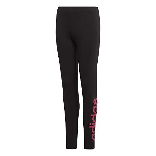 adidas Mädchen Essentials Linear Tights XL Black/Real Magenta (Ab Real Estate)