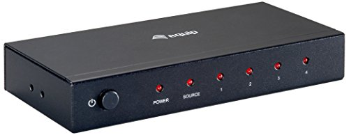 Equip HDMI-Splitter 4-Port Video Signalverteiler 4-port Hdmi Video