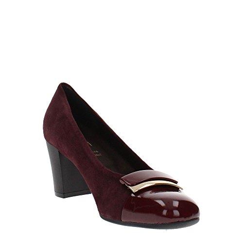 Cinzia Soft Iq154 Bordeaux Decollete Femme