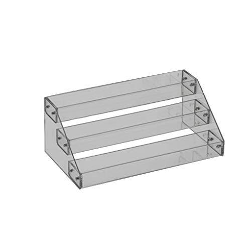probeninmappx Nagellack Rack-Anzeigen-Halter-Nagel-Kunst-Werkzeuge Lagerung Regal Acryl Desktop-Ständer Lippenstift Organizer -