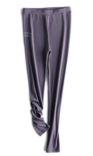Kuckuck Leggings Damen Violett Warme Leggins