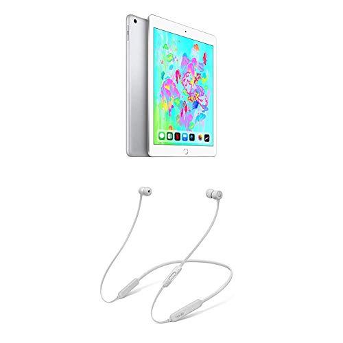 Apple iPad (Wi-Fi, 128GB) - Argento + BeatsX Auricolari - Satin Argento