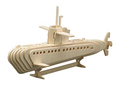Siva Toys Siva Toys866/3 - Submarino para construcción de Madera